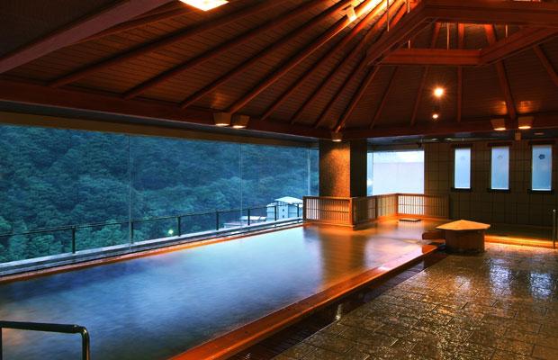 ホテル華の湯 大浴場