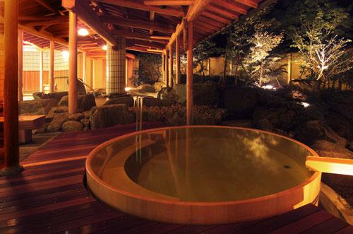 ひのき樽風呂
